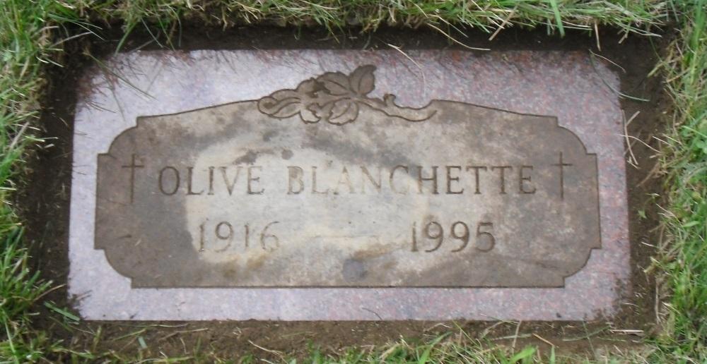 Olive H. <i>BeDorr</i> Blanchette