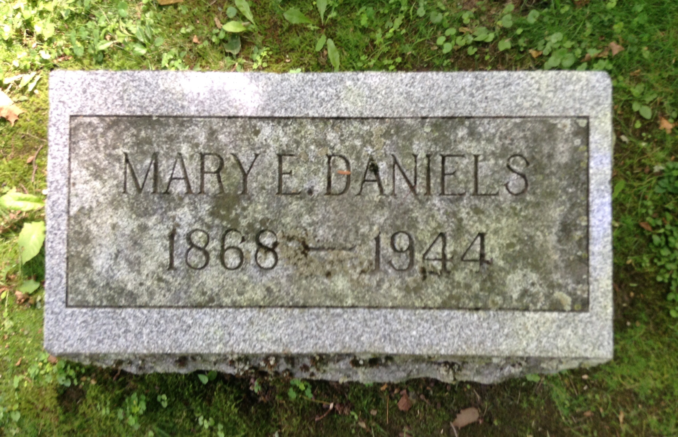 Mary <i>Daniels</i> Baltz
