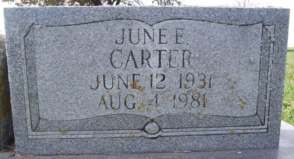 June Elaine <i>Richardson</i> Carter