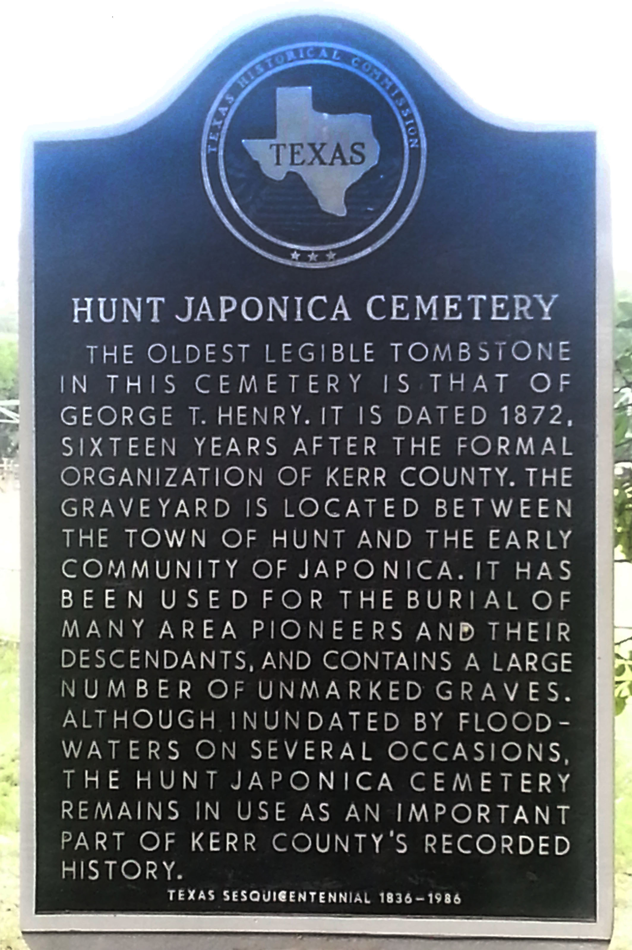 Hunt Japonica Cemetery