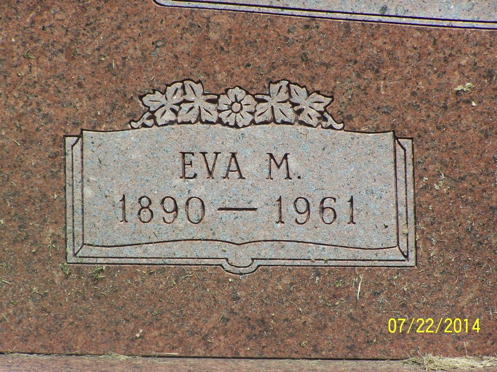 Eva M. <i>Proctor</i> Garrison