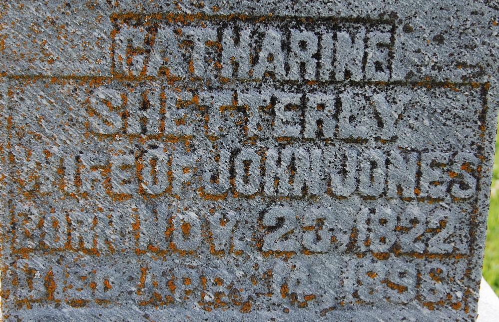 Catharine <i>Shetterly</i> Jones