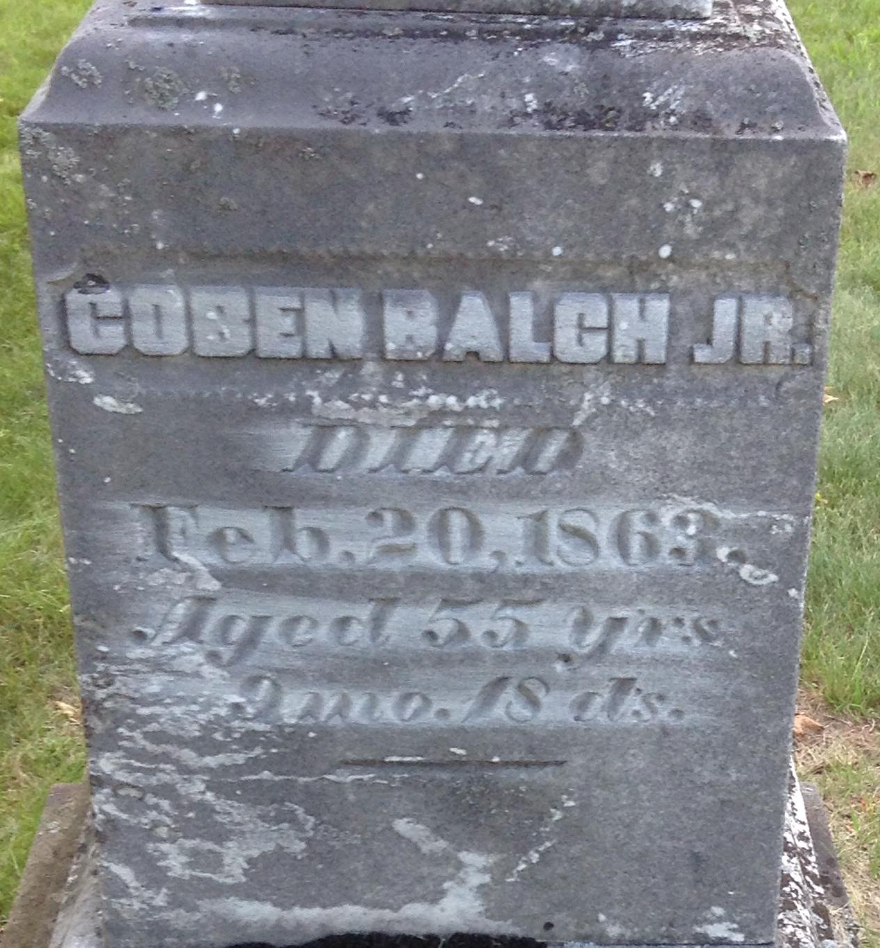 Coben Balch, Jr