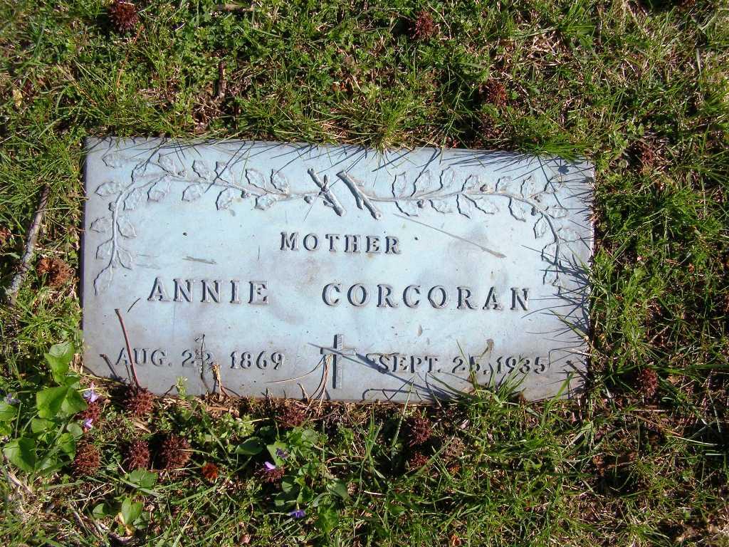 Annie <i>Sweeney</i> Corcoran