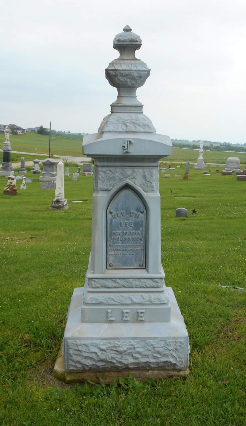 Rev William Harrison Lee