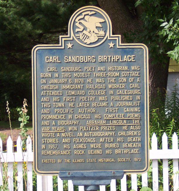 Carl Sandburg Birthplace