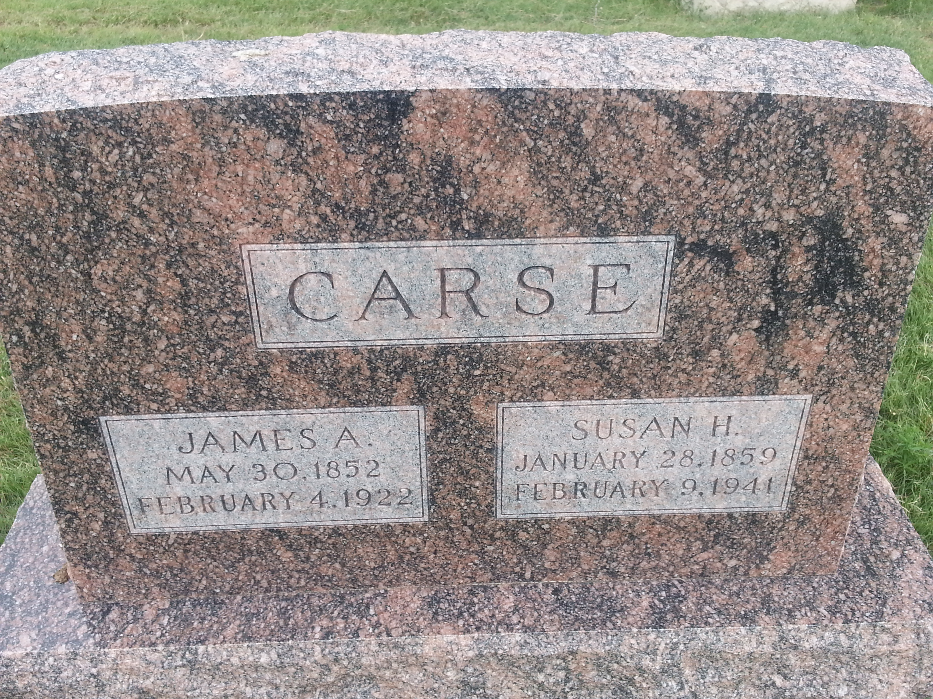 James Anthony Carse
