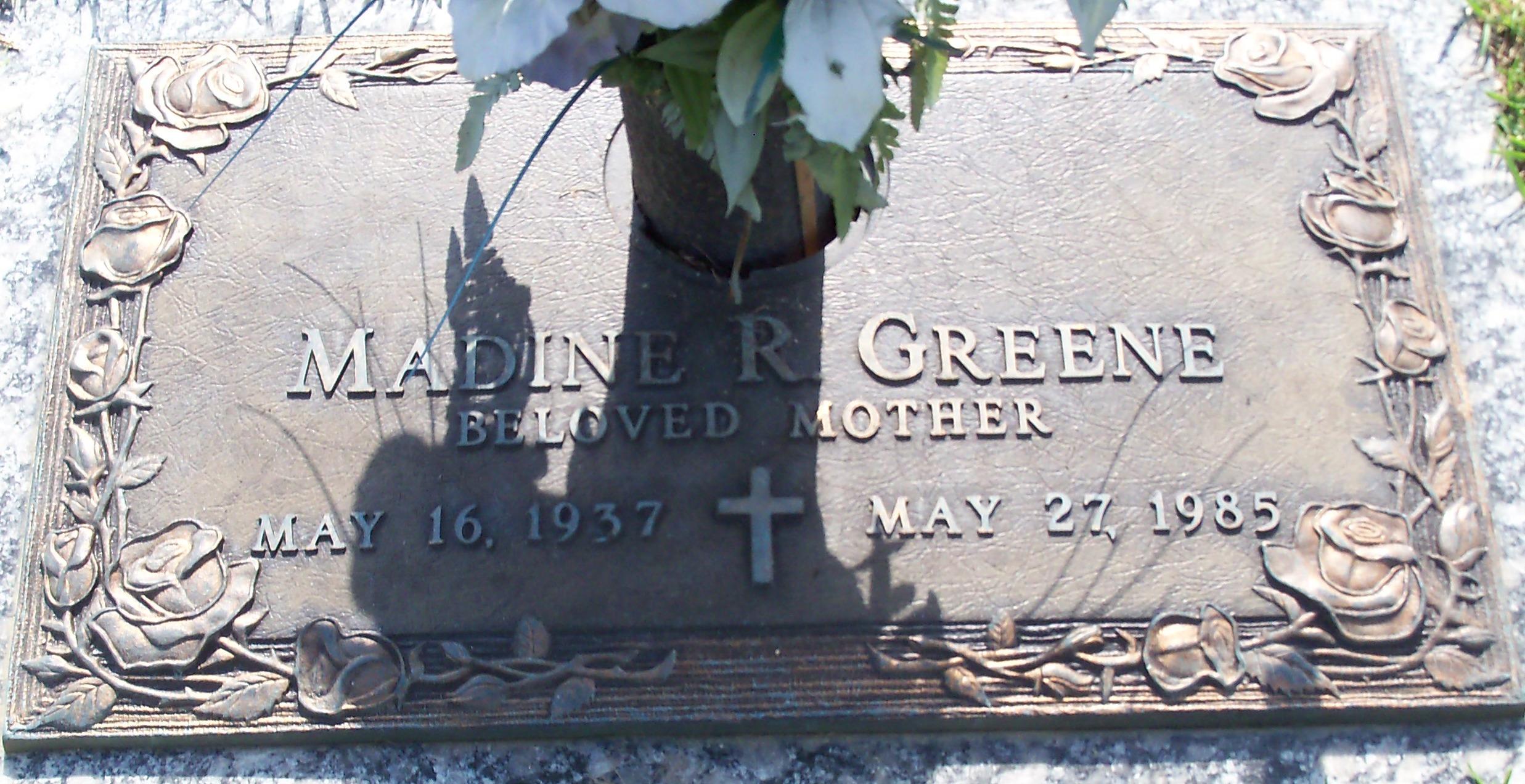 Madine R Greene