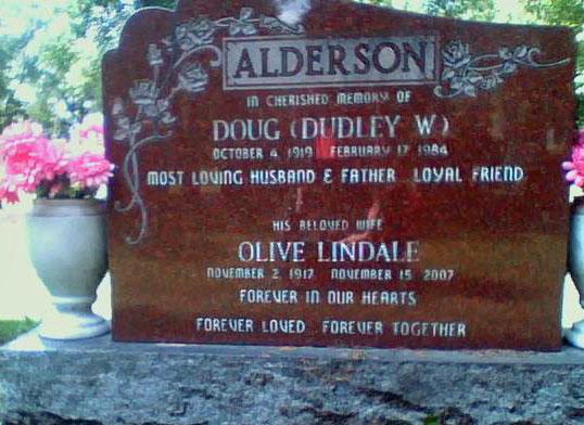 Olive Lindale <i>Farmer</i> Alderson