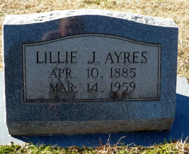Lillie <i>Jones</i> Ayres