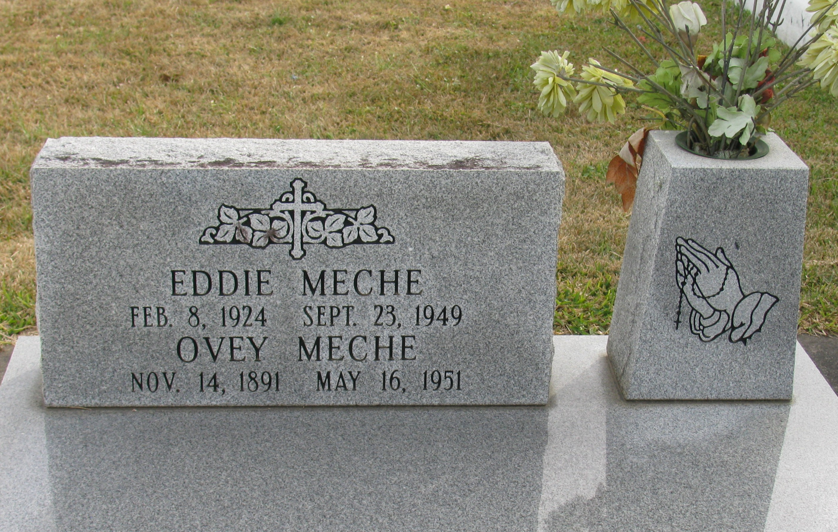 Ovey Meche Find A Grave Memorial