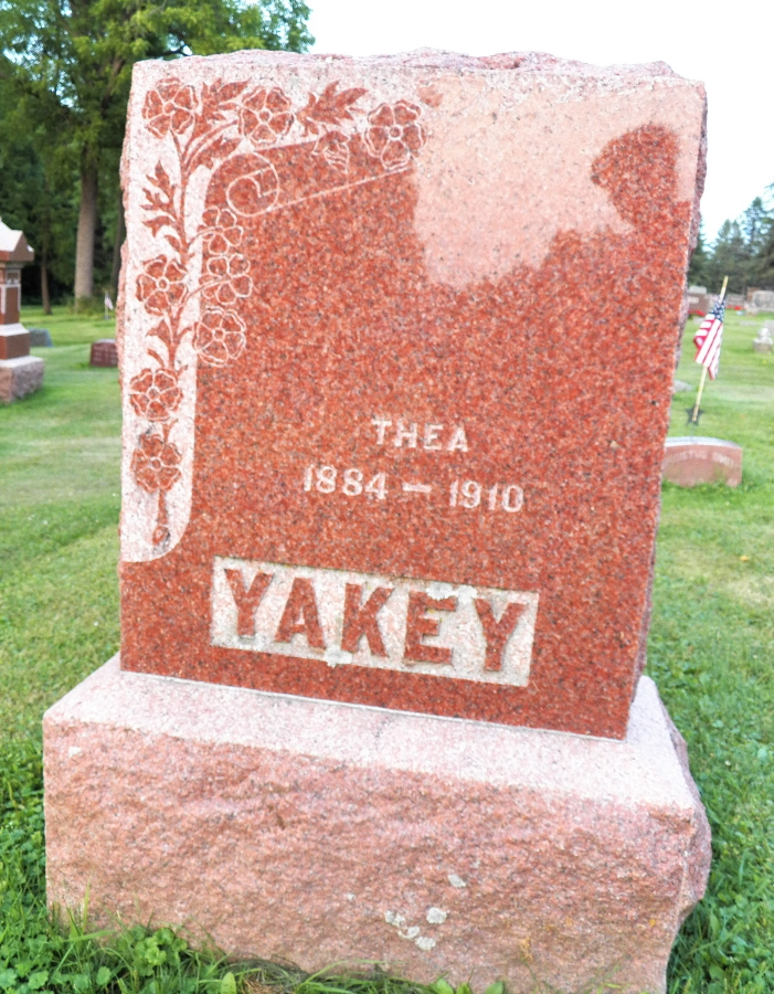 Thea <i>Thompson</i> Yakey
