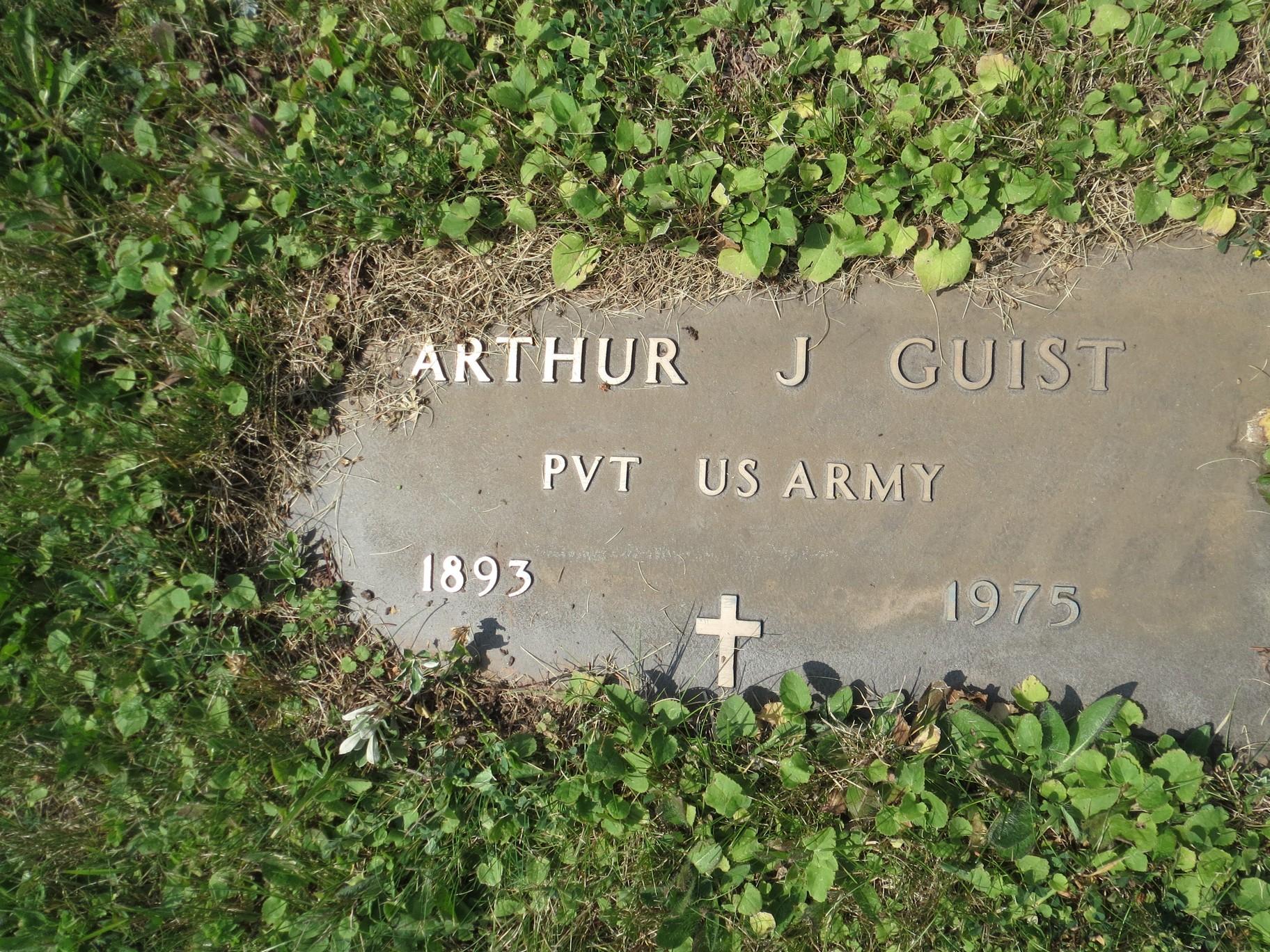 Arthur James Guist