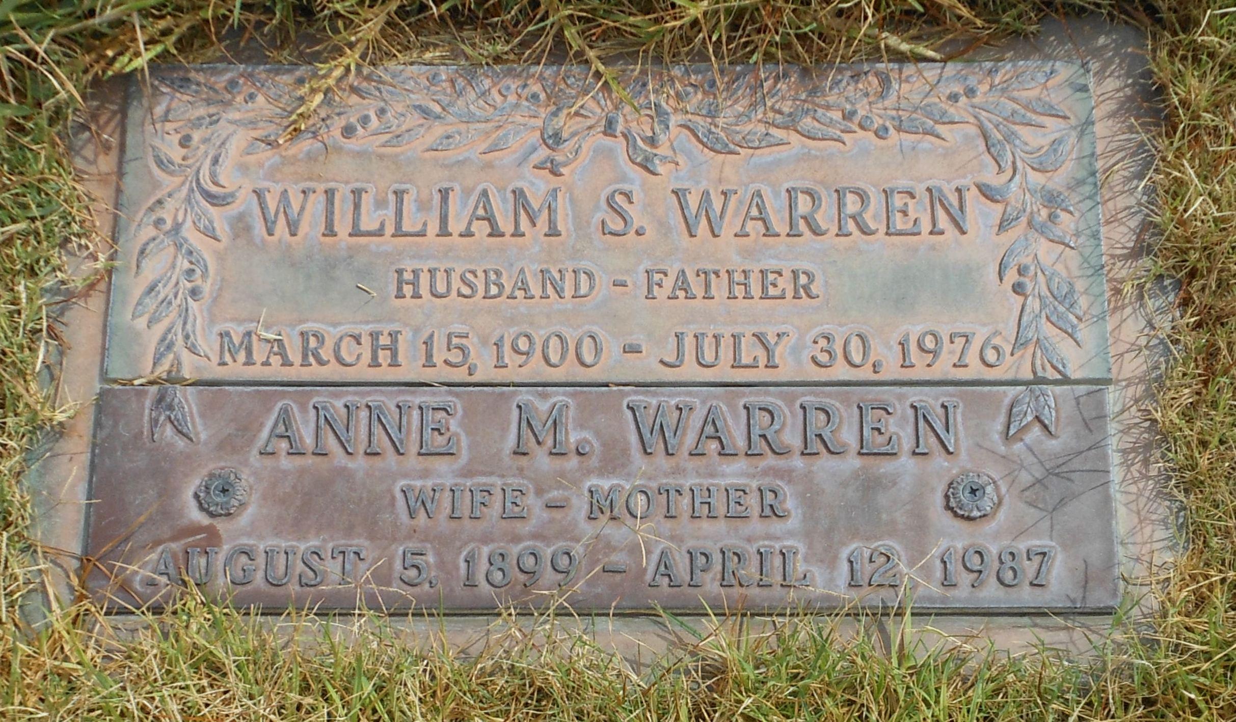 Anne Malinda Annie <i>McClain</i> Warren
