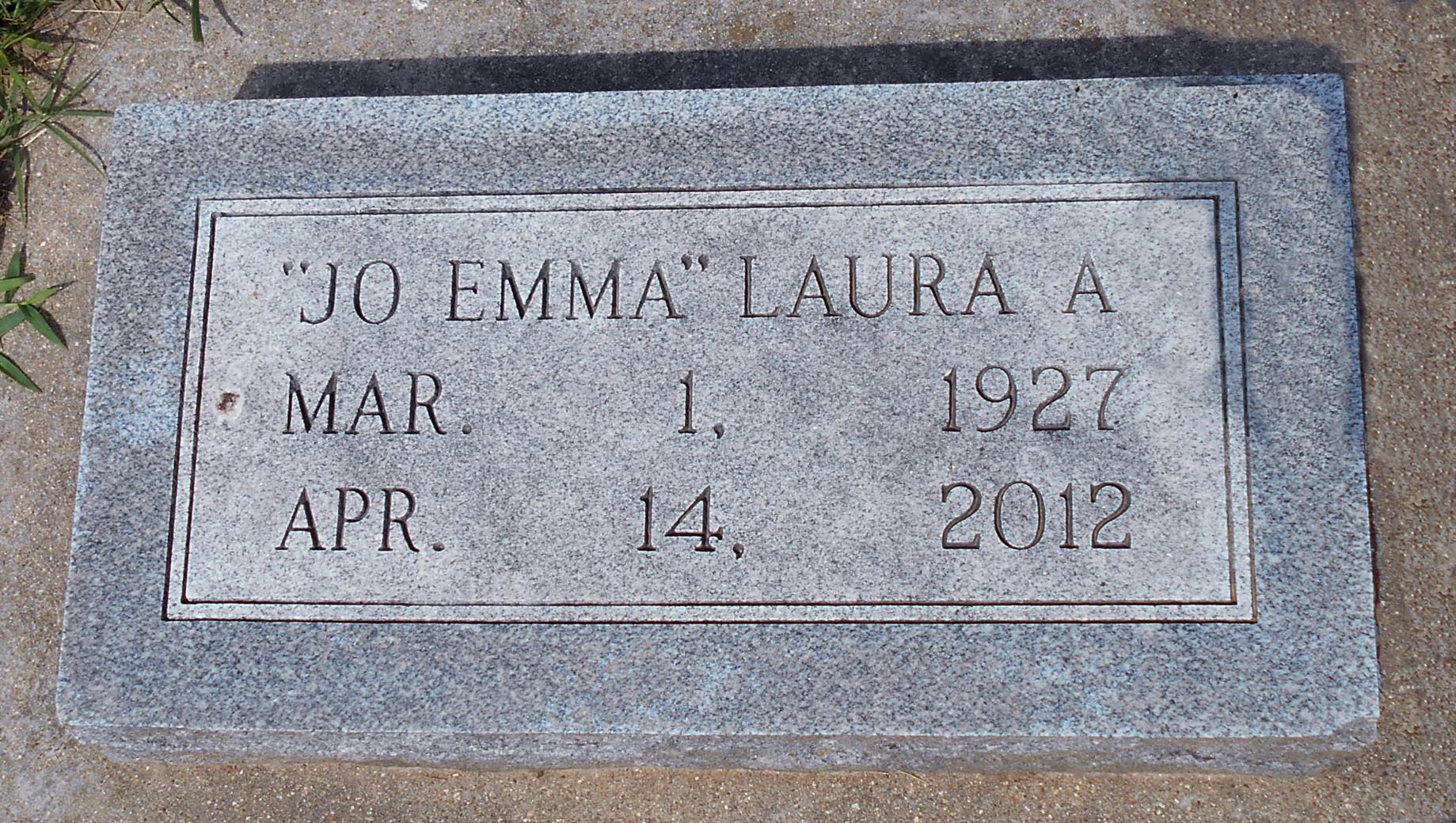 Laura Alice JoEmma <i>Woodworth</i> Lott