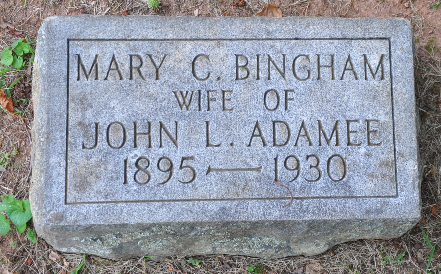 Mary Catherine <i>Bingham</i> Adamee