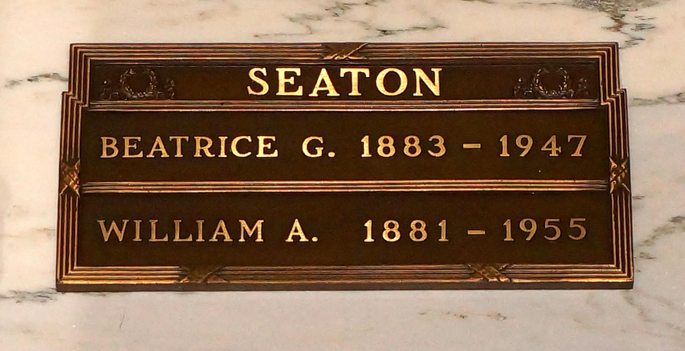 Beatrice Gertrude <i>Cummings</i> Seaton