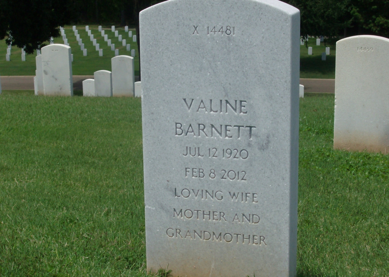 Valine <i>Moore</i> Barnett
