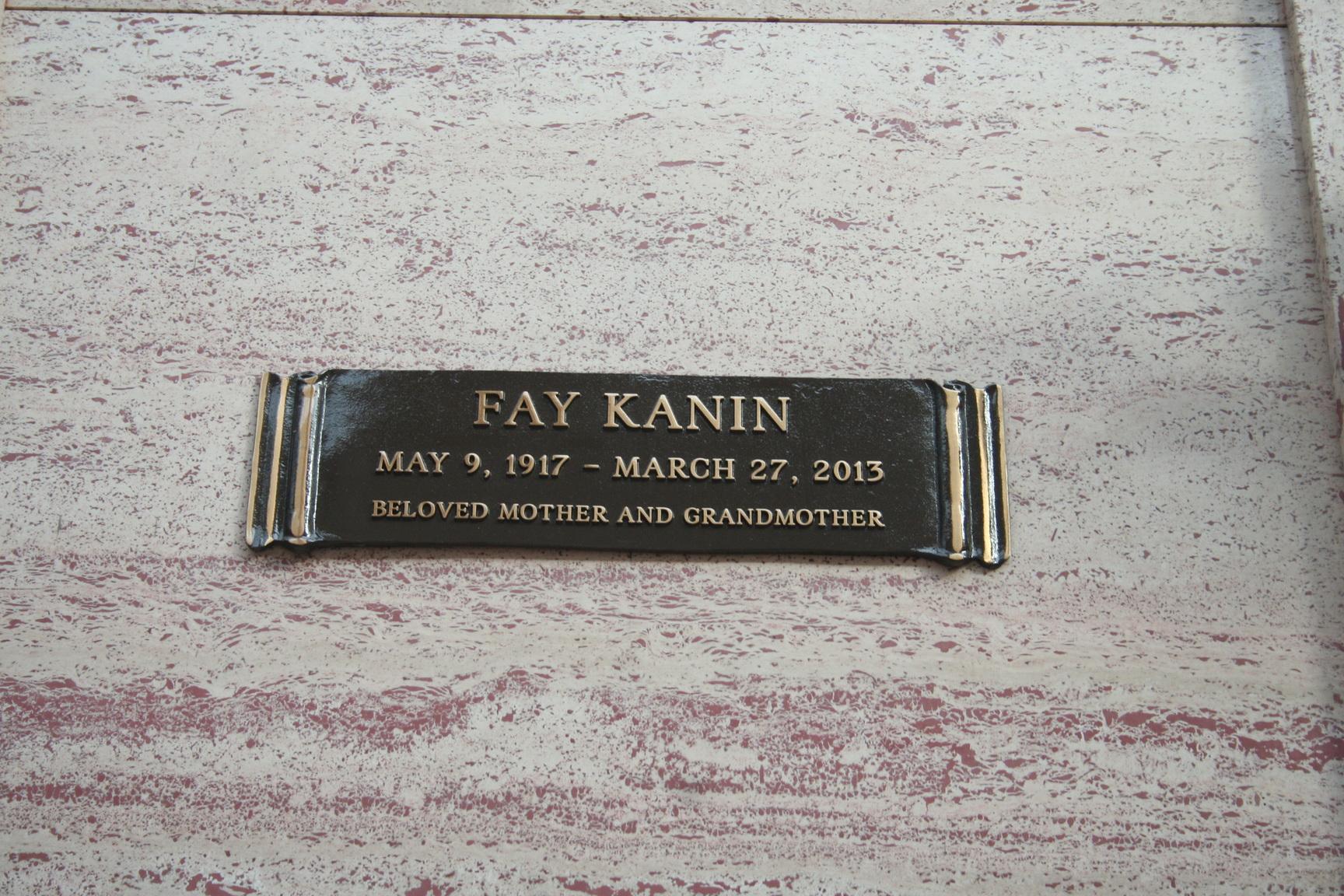 Fay Kanin