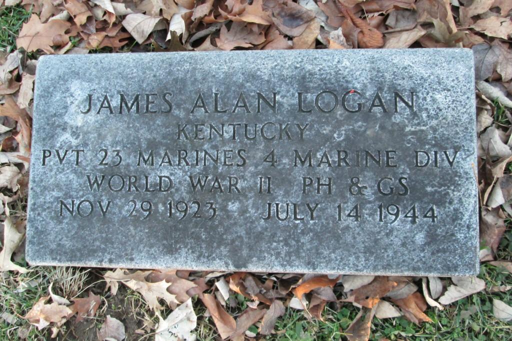 Pvt James Alan Logan