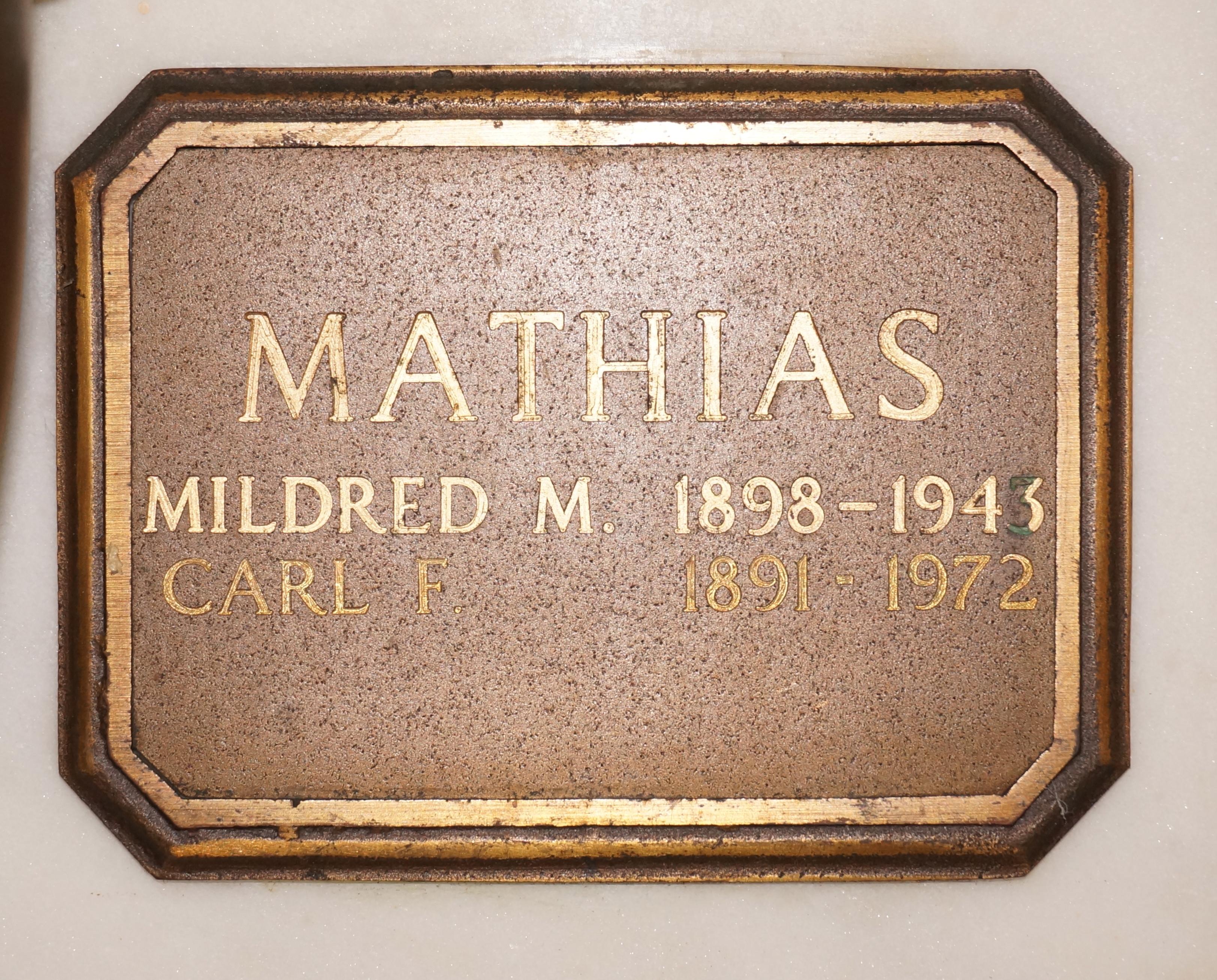 Carl Finley Mathias