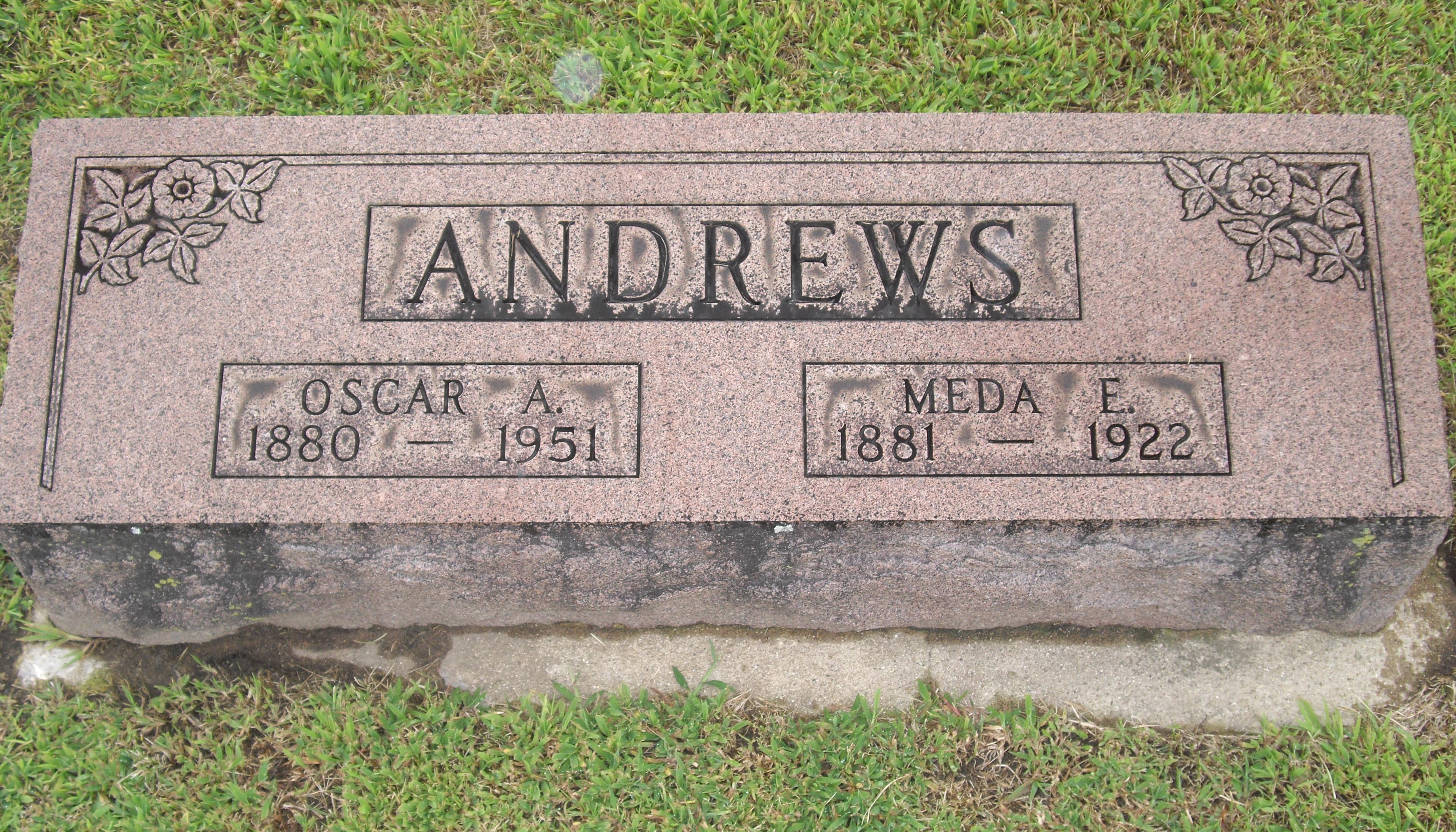 Oscar A Andrews