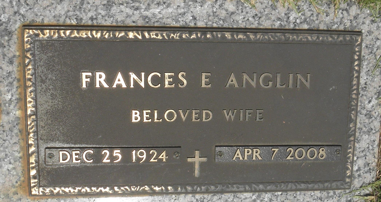Frances Estelle <i>Hughes</i> Anglin