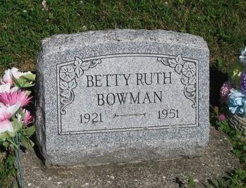 Betty Ruth Bowman