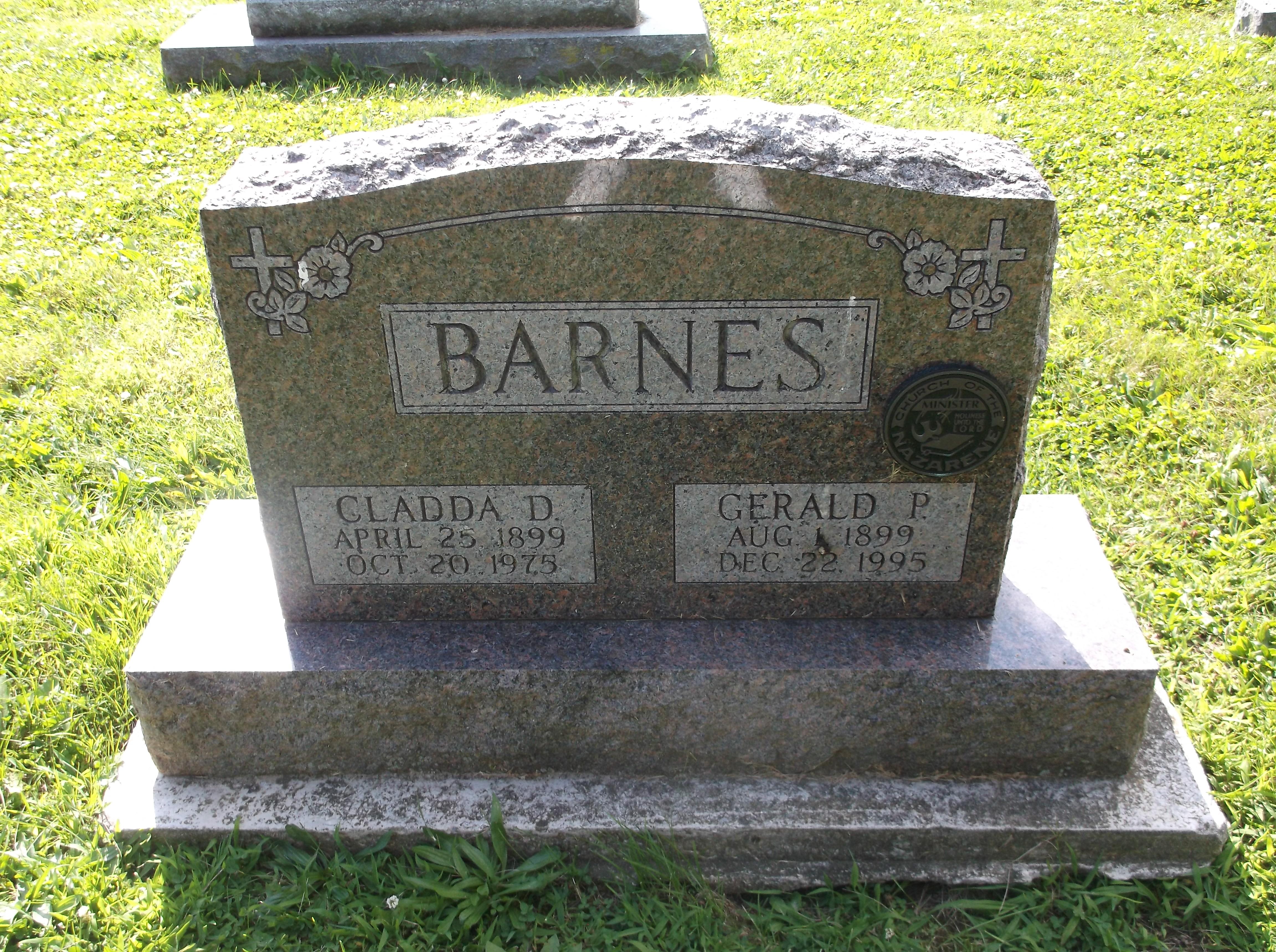 Cladda D <i>McDaniel</i> Barnes