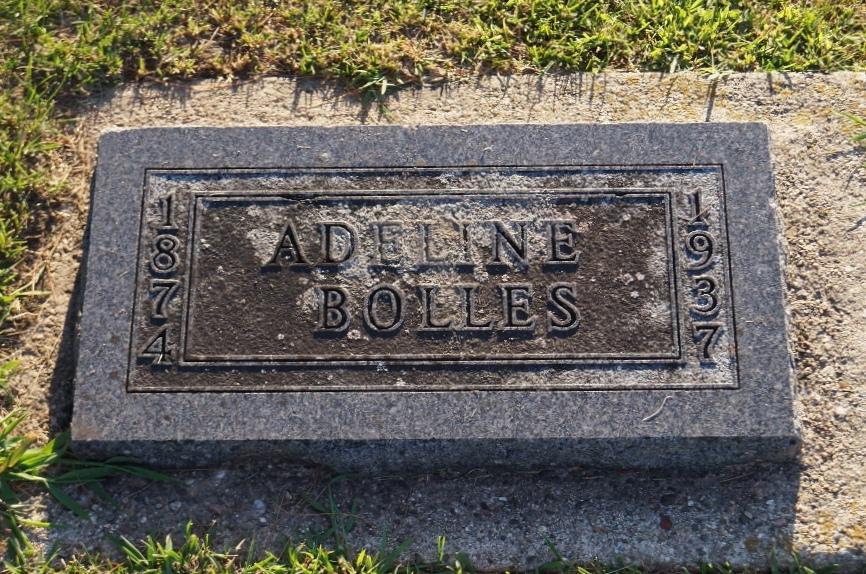 Adeline Addie <i>Newhouse</i> Bolles