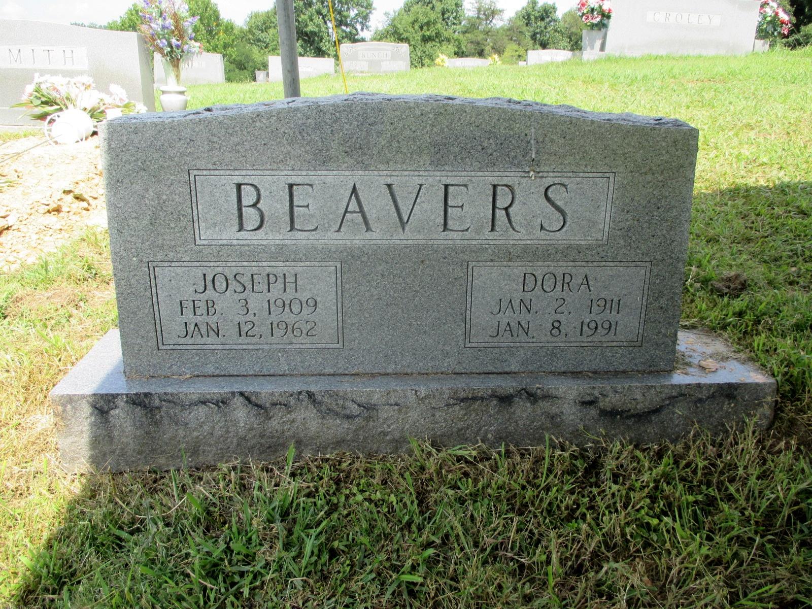 Dora <i>Petrey</i> Beavers