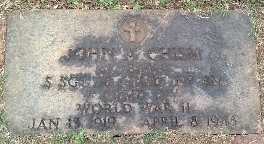 Sgt John Autrey Autrey Chism