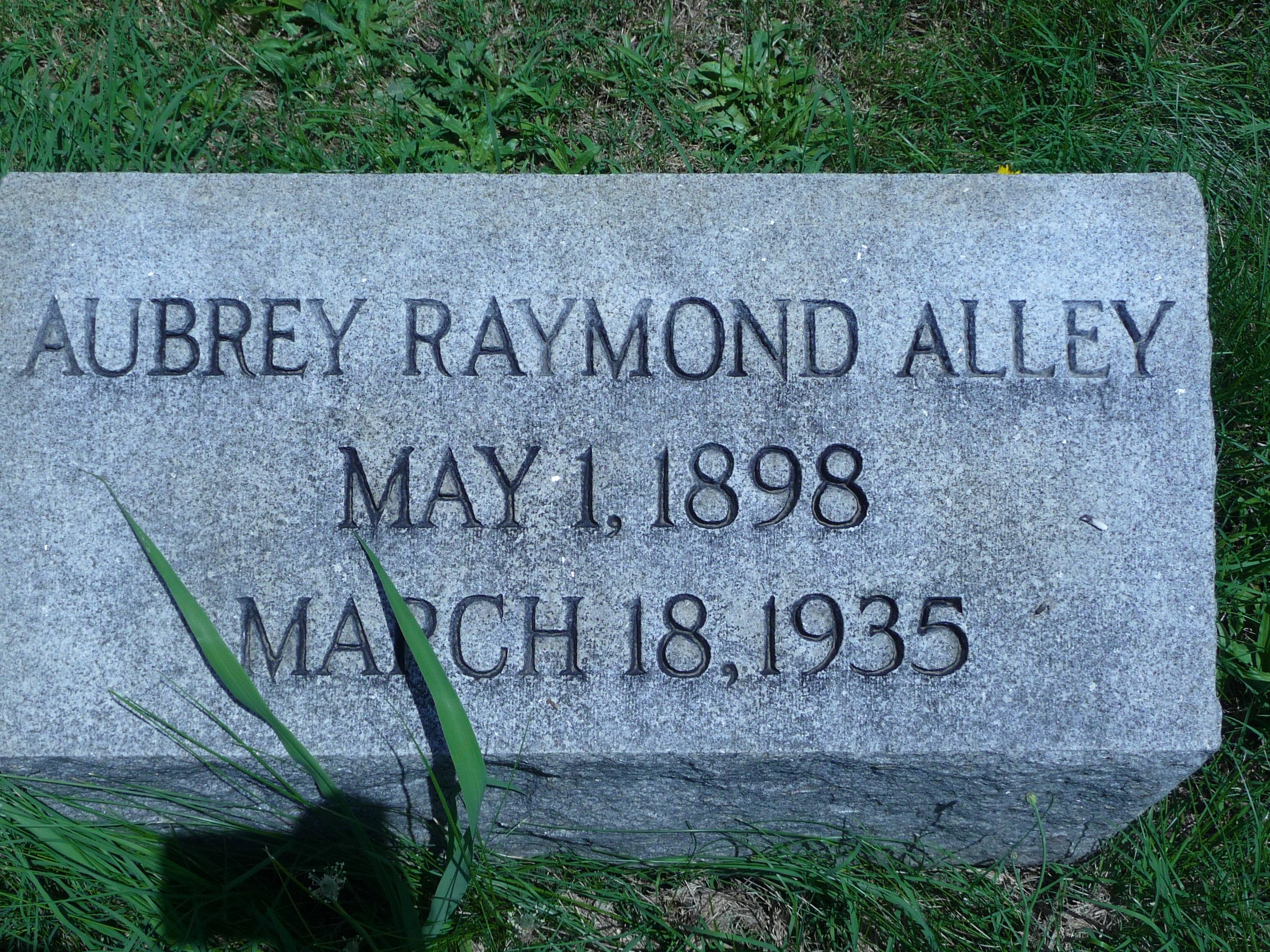 Aubrey Raymond Alley