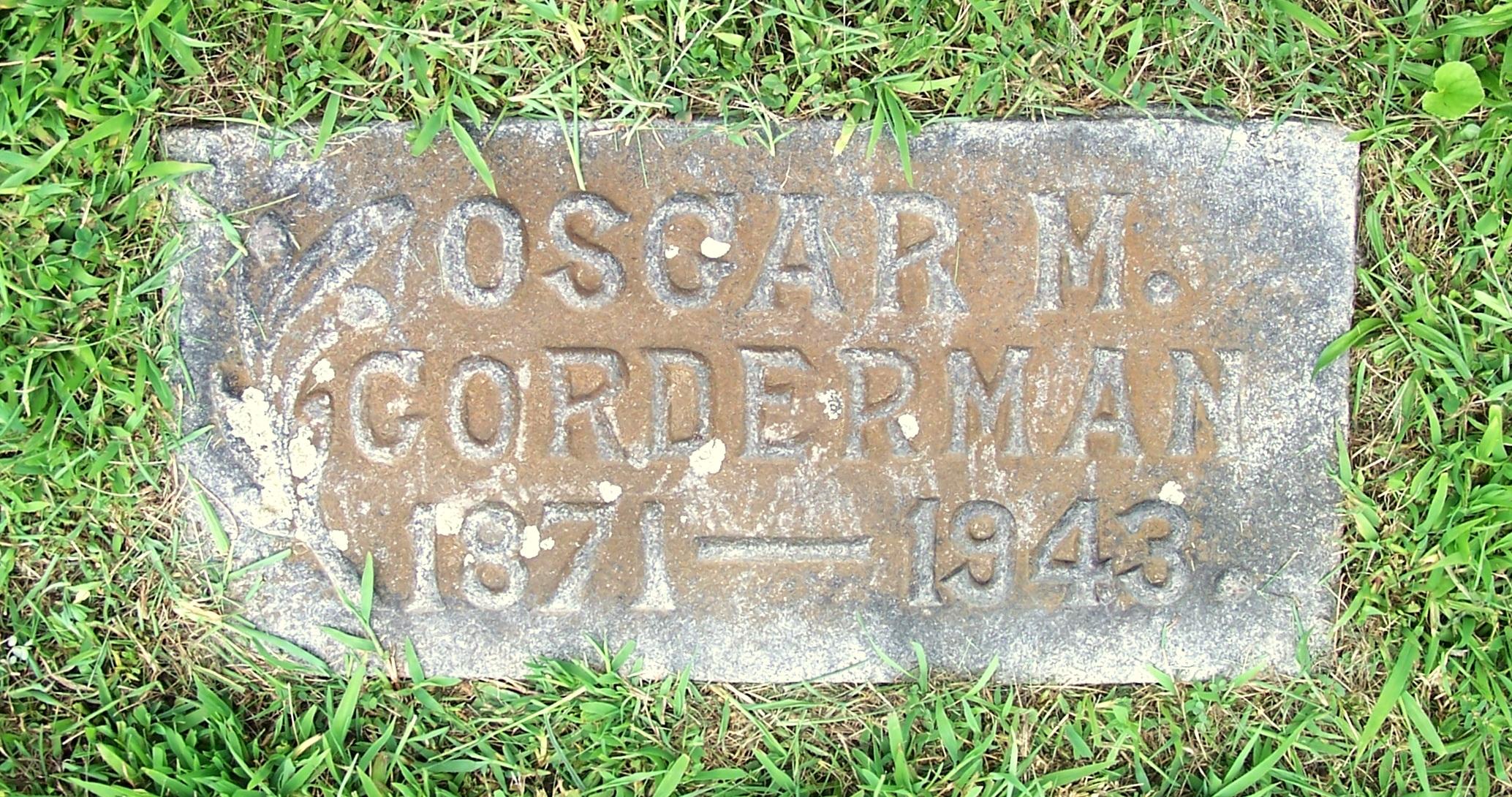 Oscar Milton Corderman