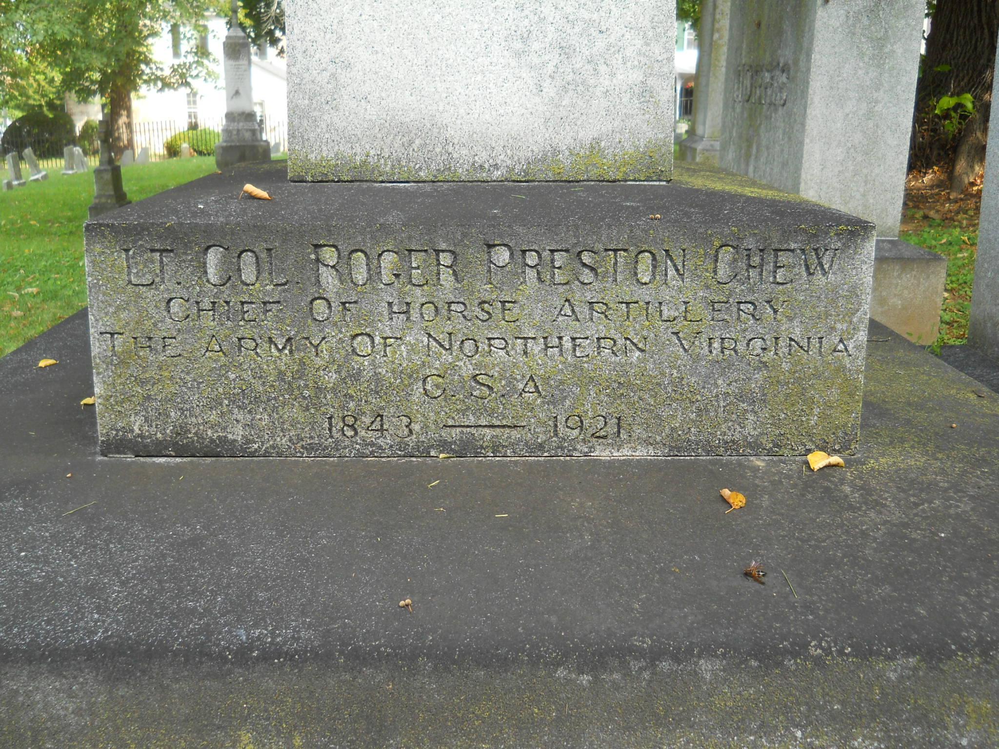 Roger Preston Chew