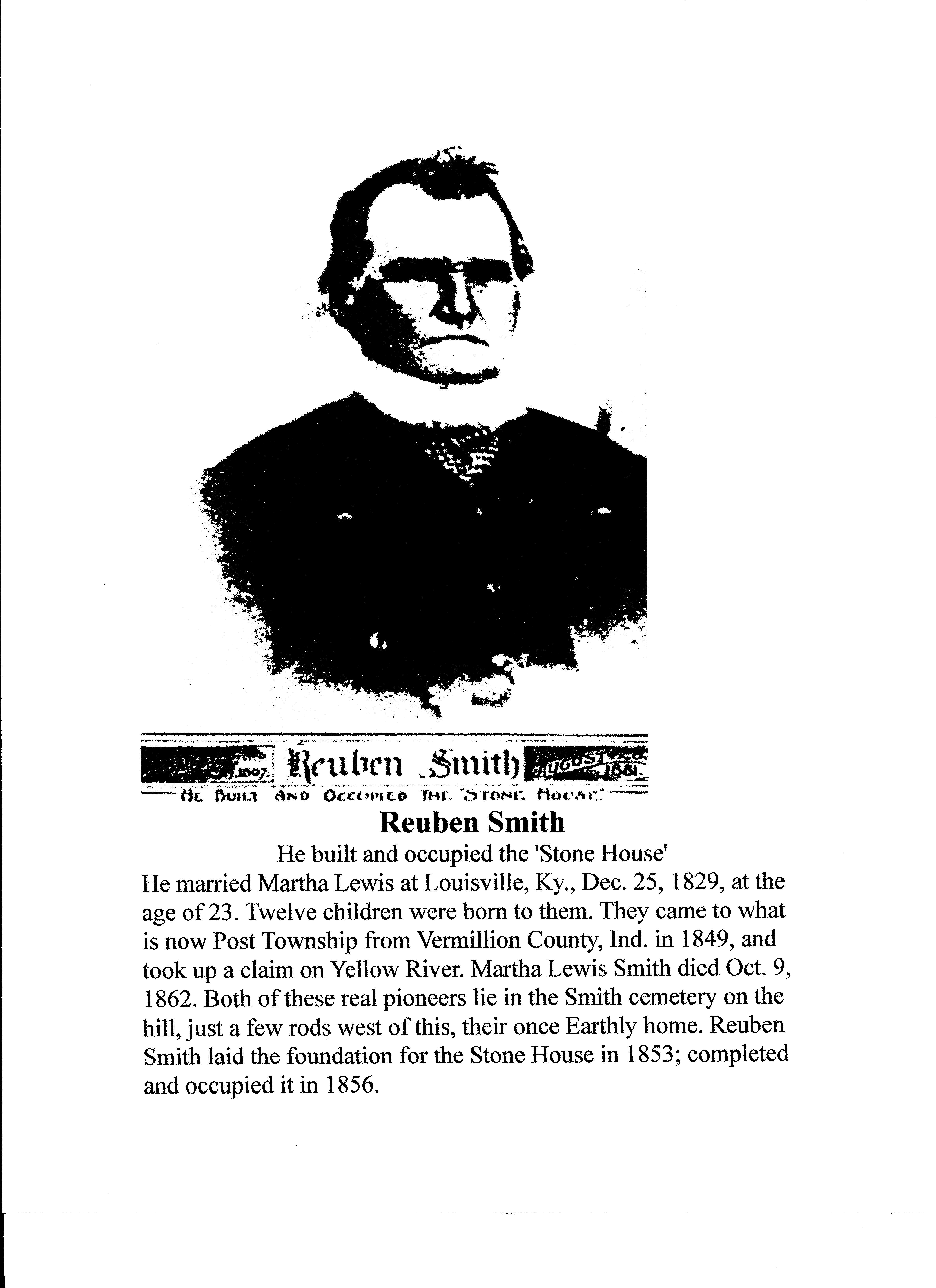 Reuben D Smith