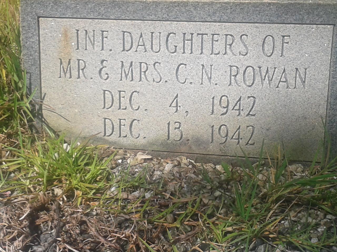 Infant Daughter 2 Rowan