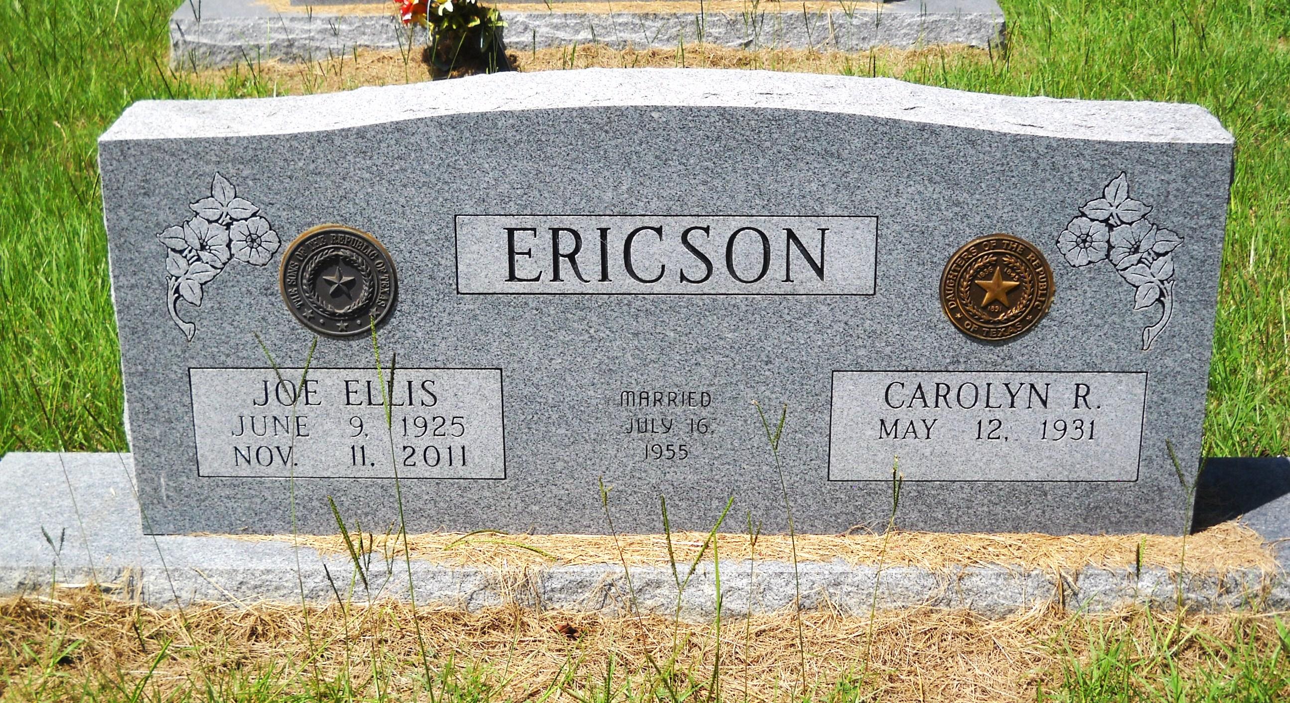 Dr Joe Ellis Ericson