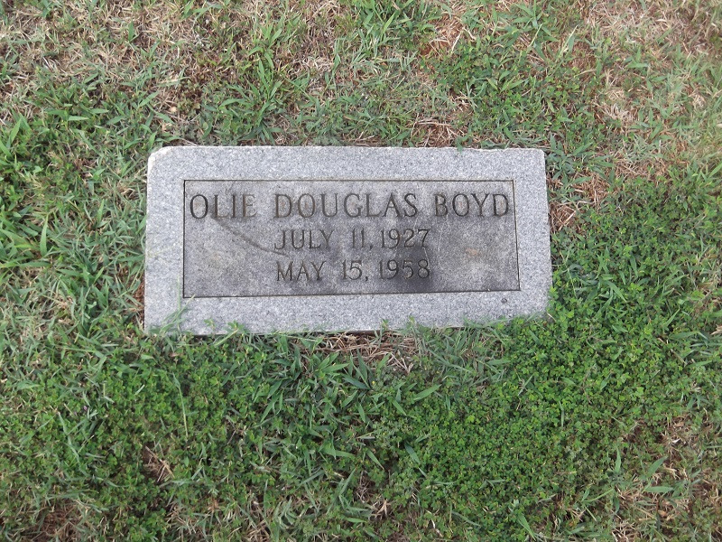 Olie Douglas Boyd
