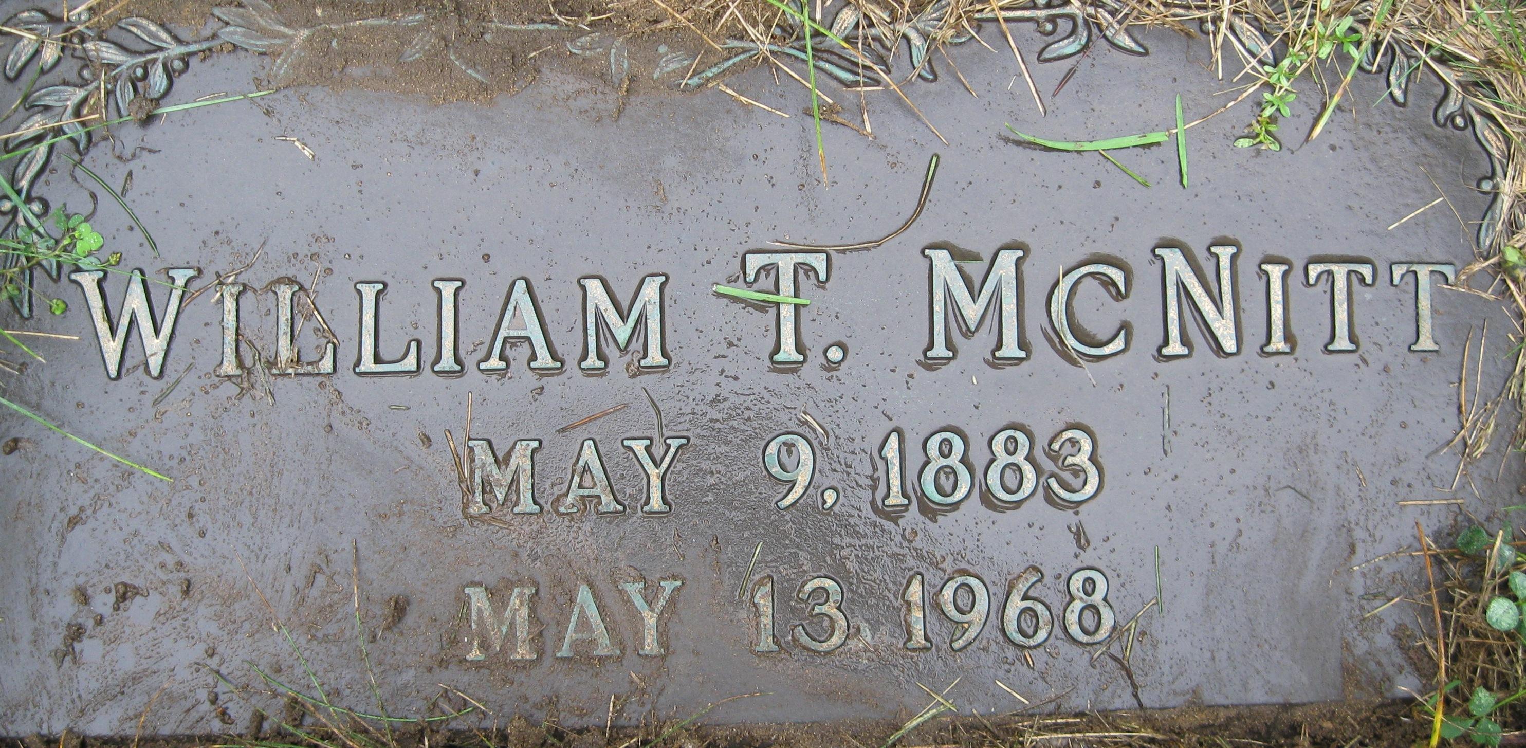 William Theodore McNitt
