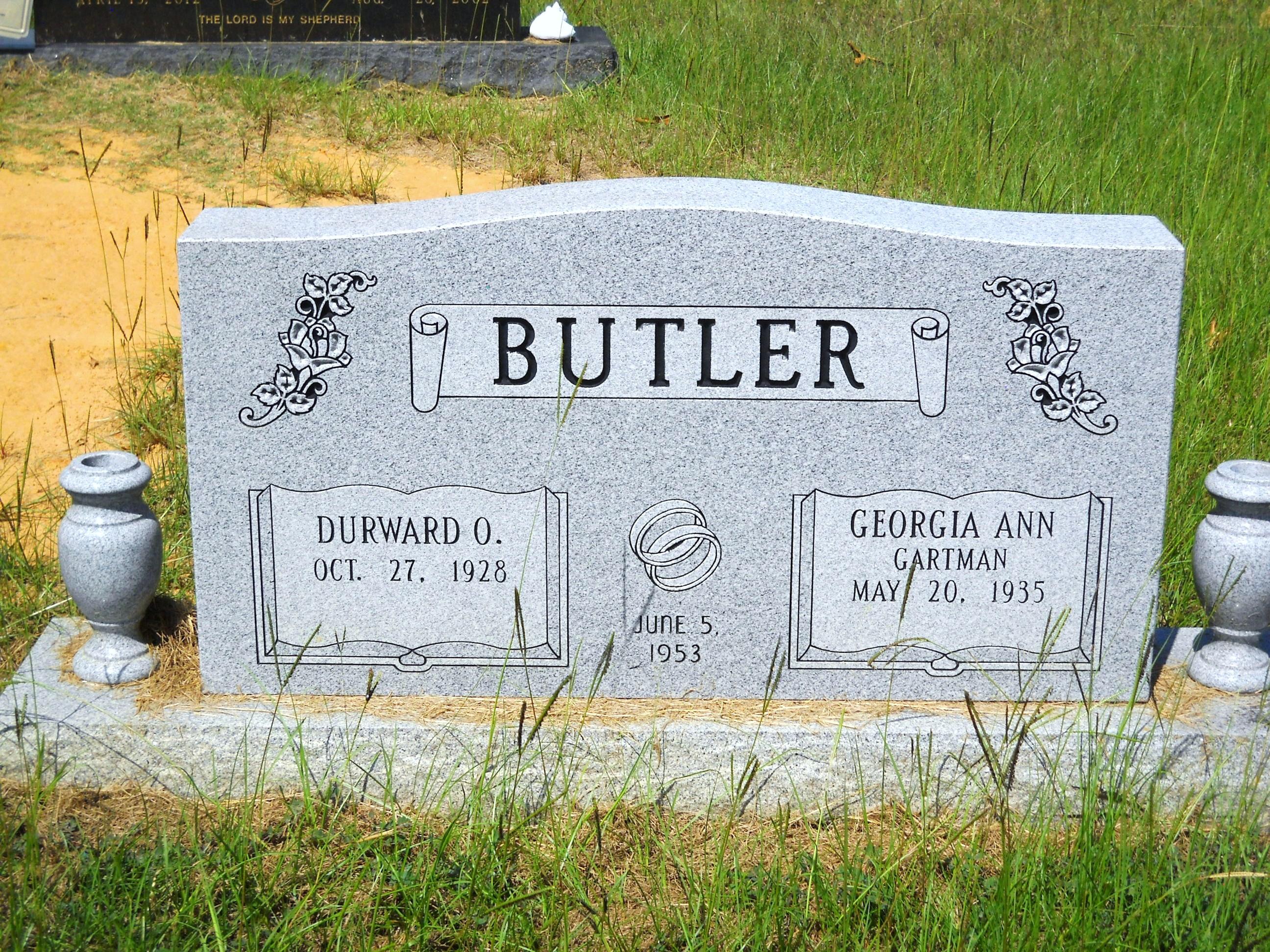 Georgia Ann <i>Gartman</i> Butler