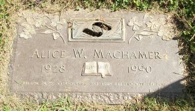 Alice M. <i>Wolff</i> Machamer