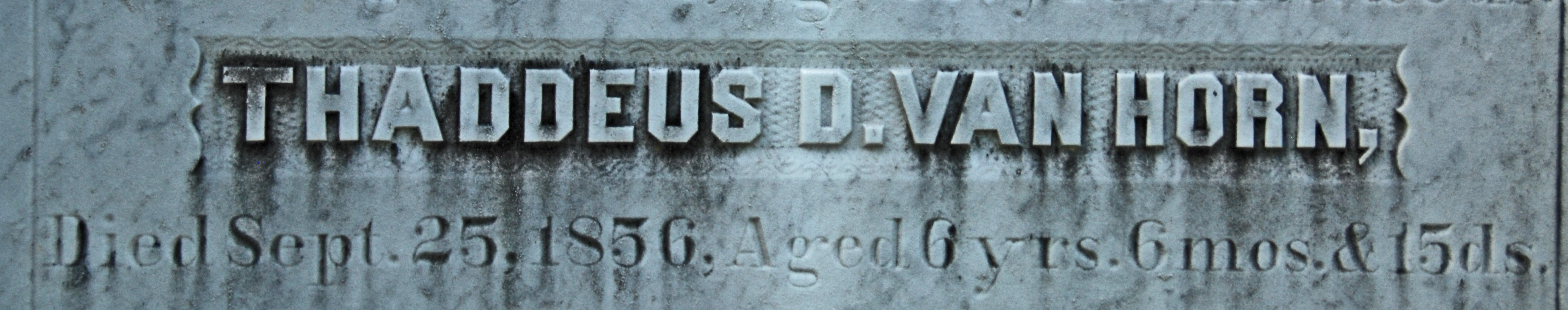 Thaddeus Damascus Van Horn