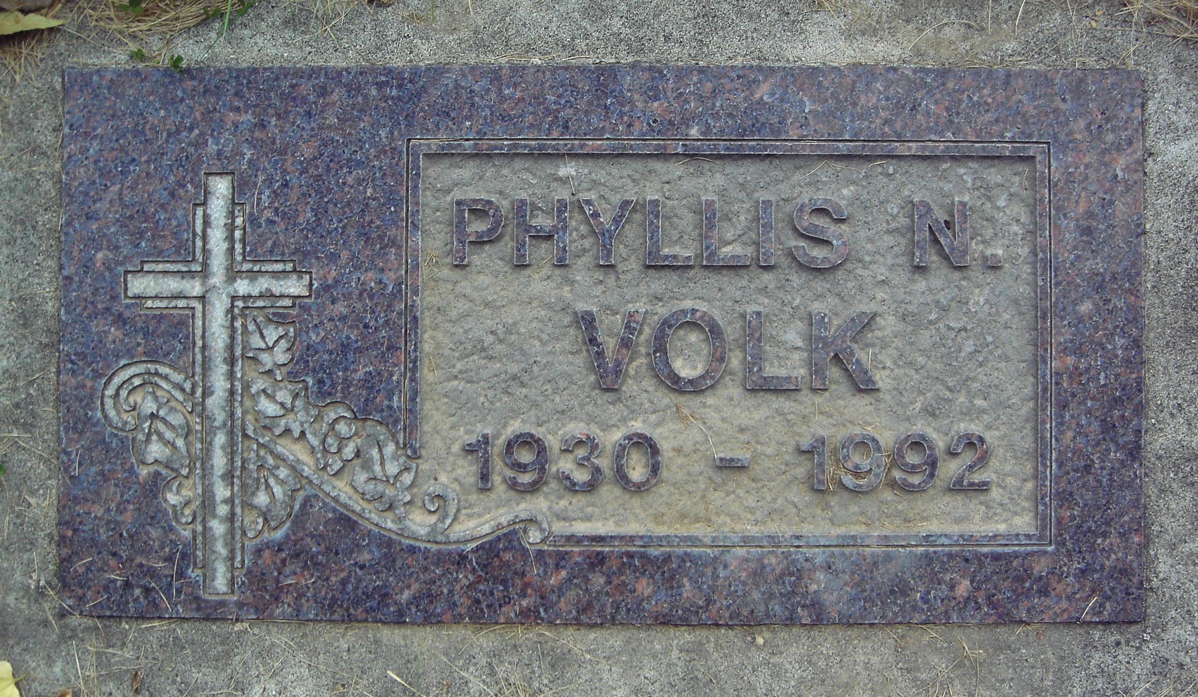 Phyllis N Waddell