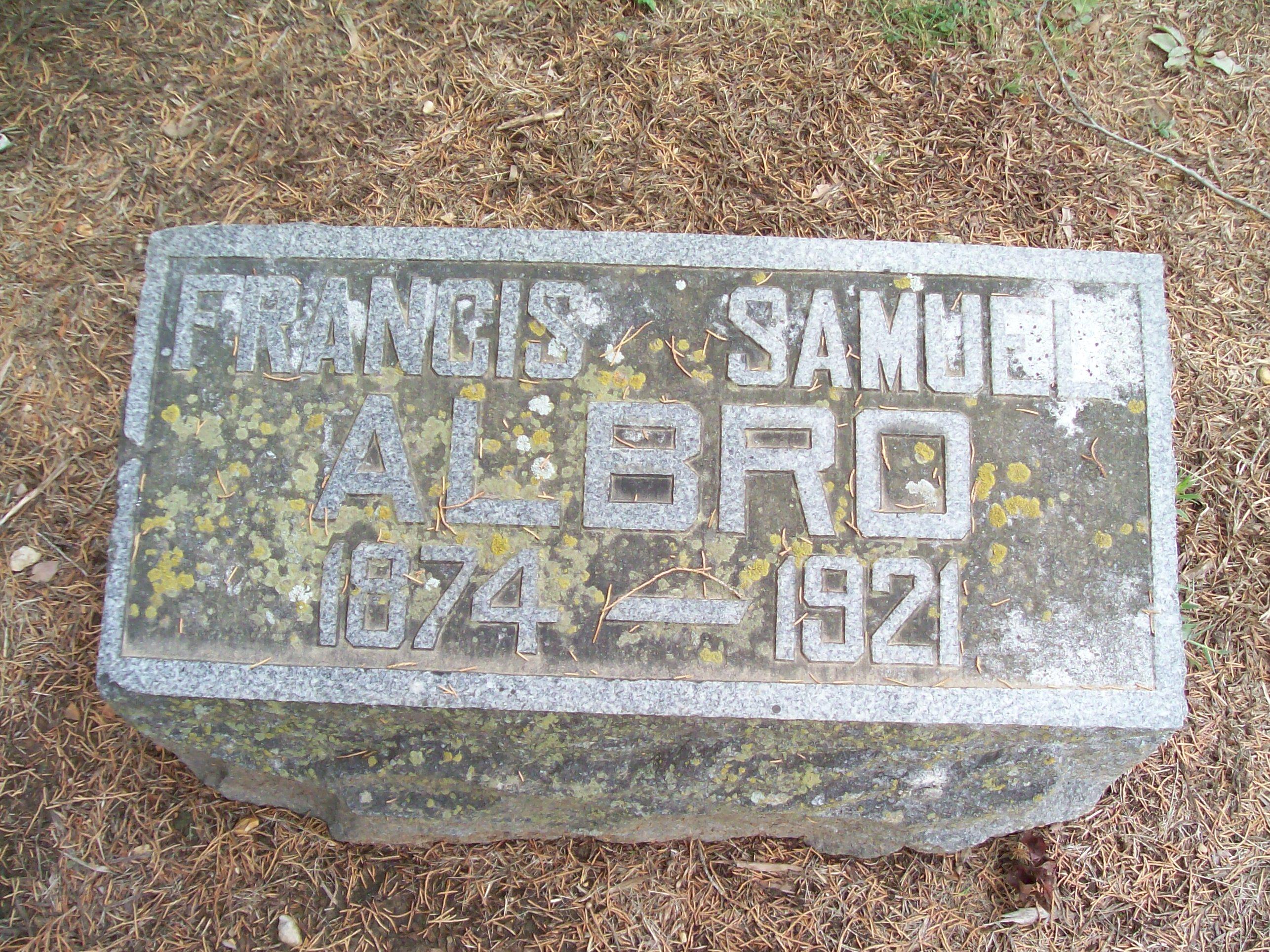 Francis Samuel Frank Albro