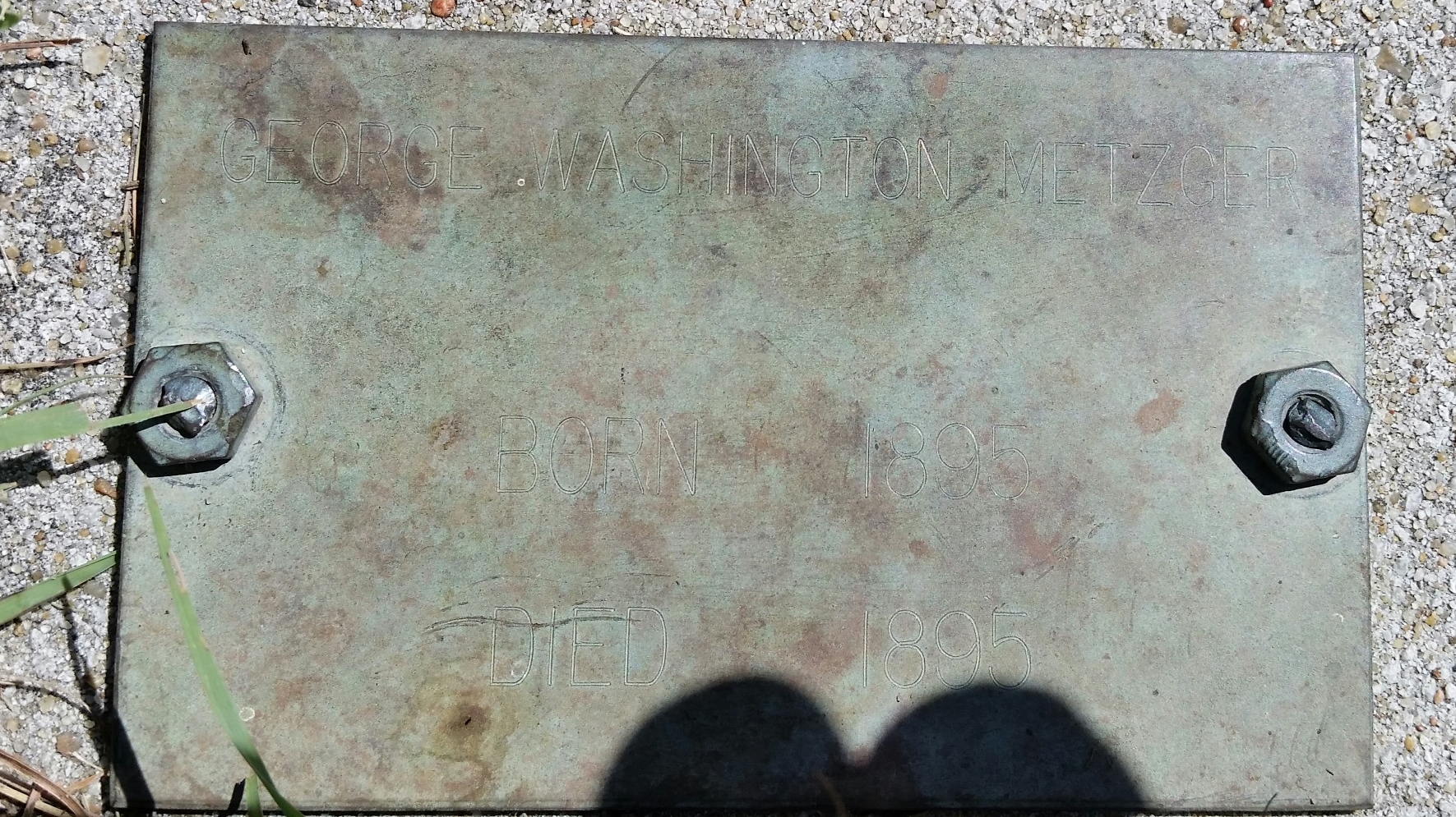 George Washington Metzger