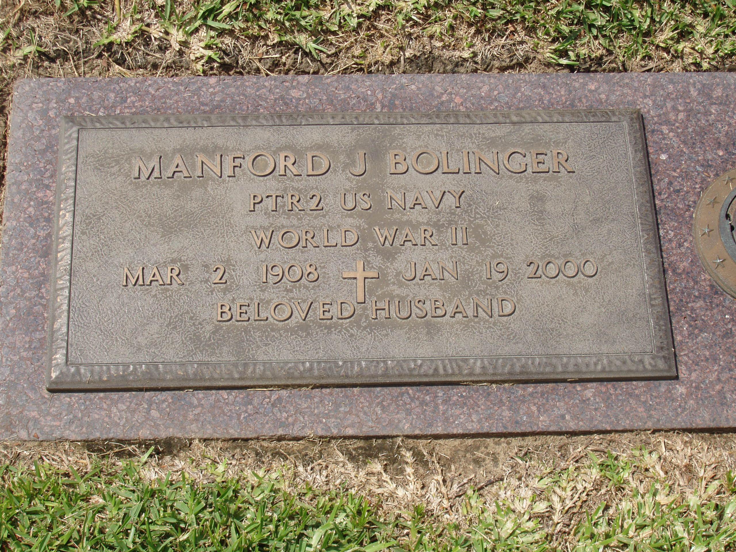 Manford J. Bolinger