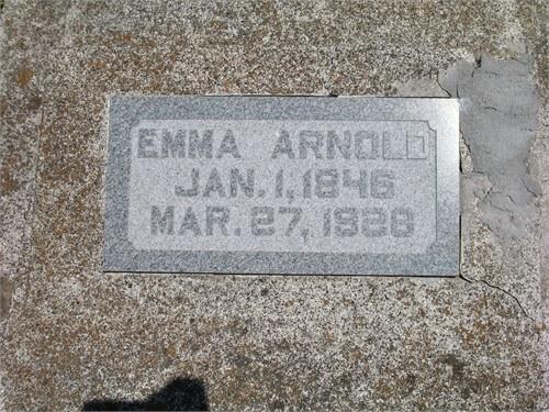Emily Parlee Emma <i>Brown</i> Arnold