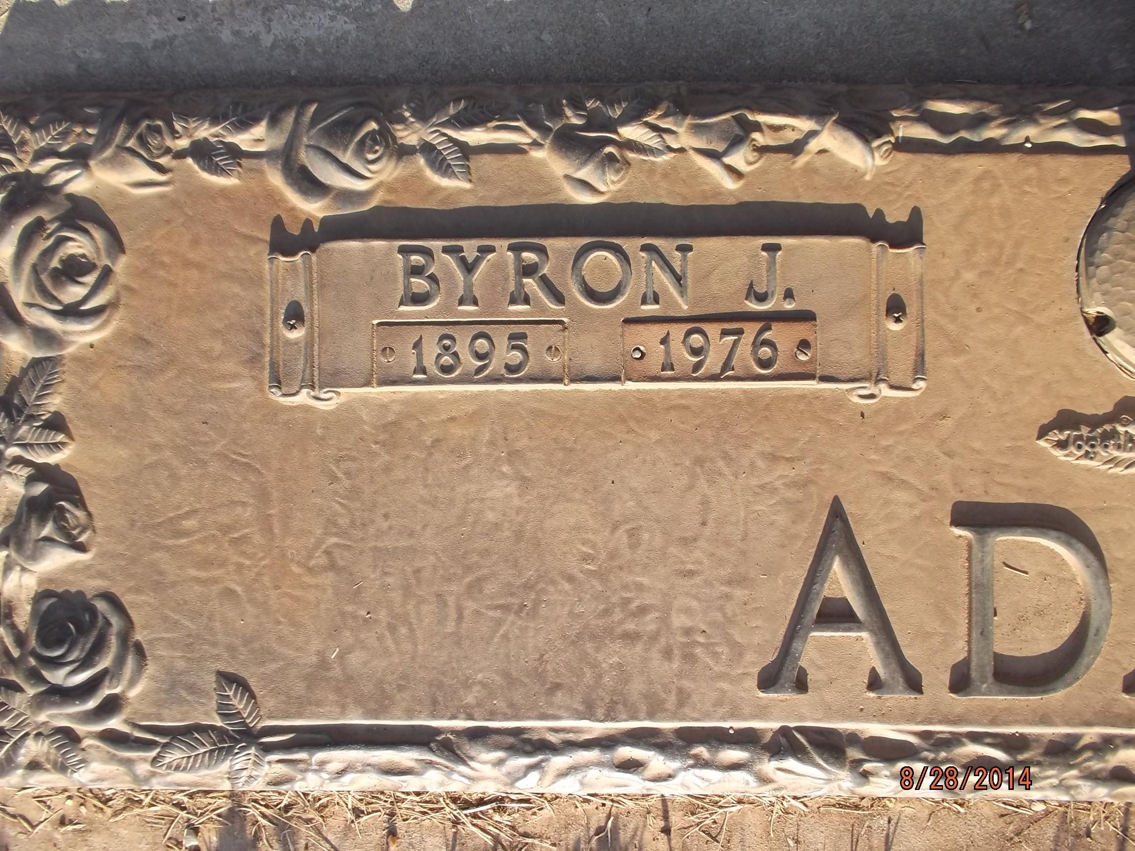Byron Jack Adams