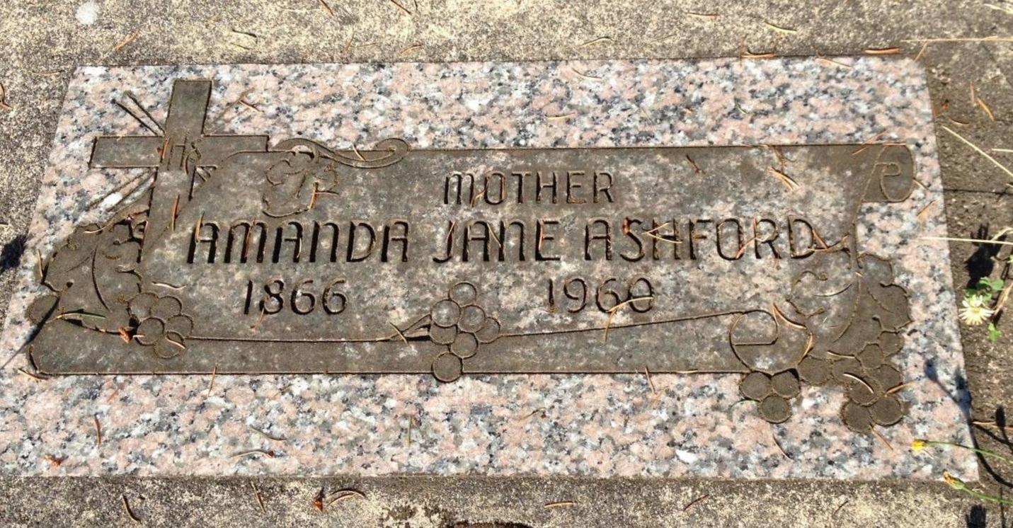 Amanda Jane <i>Sullivan</i> Ashford Orrahood